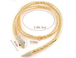 luxury bracelet gold chains images Cleopatra luxury snake necklace and belt onyx bunny jpg