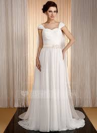 a linie u ausschnitt watteau falte chiffon brautkleid mit applikationen spitze ruschen p853 wedding dresses 189 99 a line princess sweetheart watteau