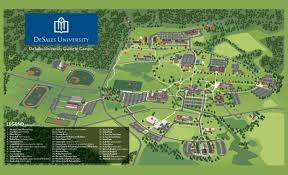 University Of Pennsylvania Campus Map by Page 1 Of 1 6 4 2012 Http Desales Edu Images Maps Desales