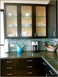 Glass Cabinet Kitchen Doors Top 83 Common Espresso Kitchen Cabinet With Frosted Glass Door And