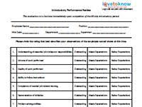 sle 90 day performance review template 28 images forretning