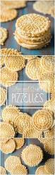 thin and crisp pizzelles baking a moment