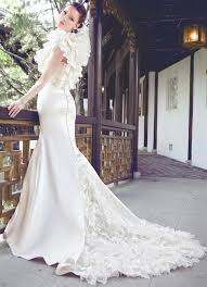 Design Wedding Dress Sophisticatedly Designed Bridal Gown By Yumi Katsura Weddings Eve