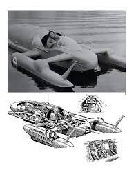 build semi scale 1 32 bluebird k7 water speed boat full size