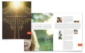 microsoft word brochure template free free church brochure templates for microsoft word 4 best and