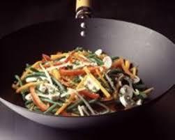 cuisiner au wok recette légumes sautés au wok