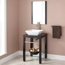 Black Bathroom Vanity With Sink by 22