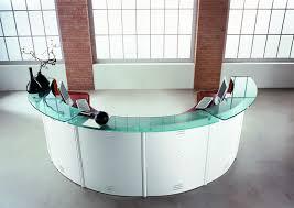 Metal Reception Desk Semicircular Reception Desk Modular Metal Reception