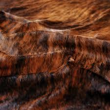 kobe cowhide rug salt pepper classic brindle natural rugs