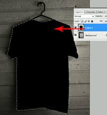 desain baju kaos hitam polos cara membuat desain kaos t shirt baju distro dengan photoshop