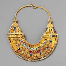 collar necklace style images History 39 s gems egyptian collar necklaces poskett 39 s jpg