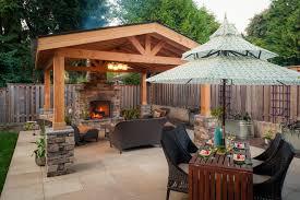 Covered Patio Ideas For Backyard Baroque Hard Top Gazebo Mode Portland Traditional Patio Innovative