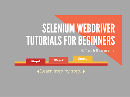 online tutorial of python selenium webdriver tutorial step by step lessons