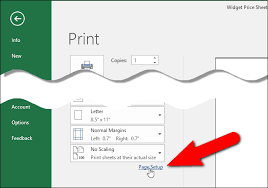 how to print a worksheet with comments in excel