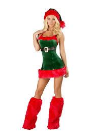 christmas costumes santas envy women christmas costume 52 99 the costume land