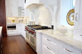 Kitchen Images With White Cabinets Kitchen With White Cabinets And Marble Countertops Marble