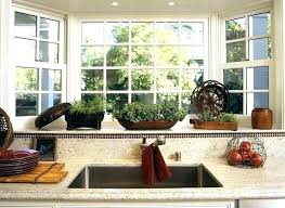 kitchen window decorating ideas bay window decorating ideas pictures vilajar site
