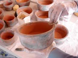 milk painted terra cotta pots hgtv