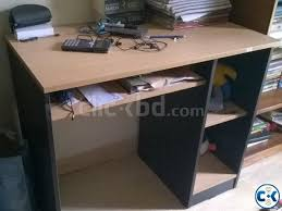 study table for sale double bed study table almira for sale bedroom furniture clickbd