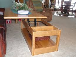 coffee table coffee table that raises up awesome pop plans to