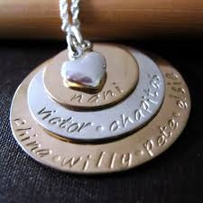 gold mother necklace images Grandmother necklace gold mothers necklace hand stamped jpg