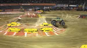 monster truck show california monster jam oakland california m2d camo thunder truck freestyle 2