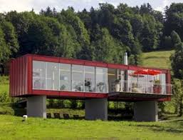 50 creative houses built with containers futurist architecture