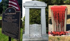 What The Rebel Flag Means Northwest Confederate Monuments Targeted For Removal And Vandalism