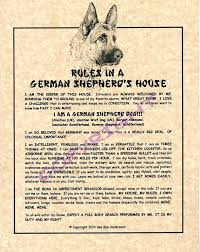 amazon com rules in a german shepherd u0027s house prints posters