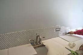penny tile bathroom backsplash ellis u0026 page