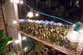 white linen night in the heights open location arts food and