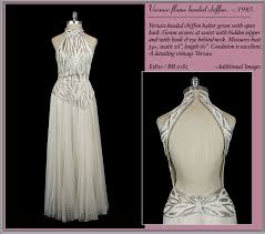 versace wedding dresses exquisite vintage bridal gowns from the frock chic vintage brides