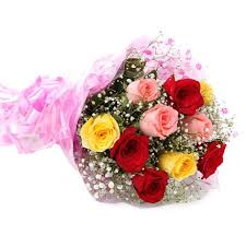 multi colored roses order aramis 10 multi colored roses online aramis 10 multi