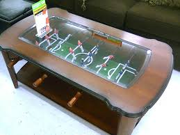coffee table outstanding foosball coffee table designs used