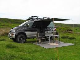 Van Living by Hiace Hobo Living In A Toyota Camper Van Mitsubishi Delica