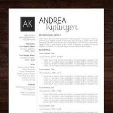 Eye Catching Words For Resume Elegant Resume Template Instant Download For Use With Microsoft