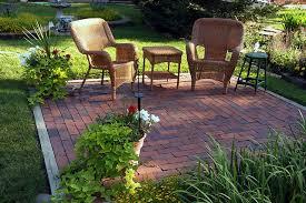 Small Brick Patio Ideas Backyard Garden Brick Patios Patios And Bricks