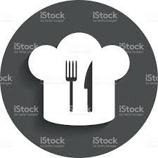 symbole cuisine chef hat signe icône symbole de cuisine cliparts vectoriels et