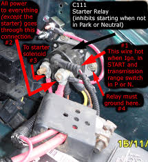 1993 ford ranger starter help can t get aerostar to start page 2 ford truck