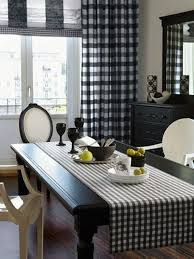 buffalo check table runner 25 fresh ways to style your home with buffalo check digsdigs