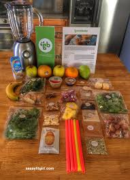 sassy fit greenblender smoothie subscription tastes of