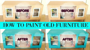 Old Furniture How To Paint Old Furniture With Furniture Paint Diy Room