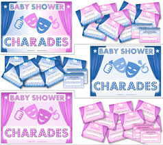 baby shower charades choice image baby shower ideas