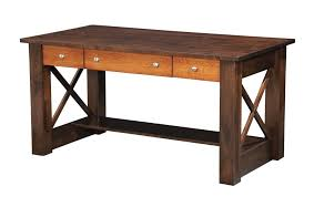 Solid Wood Desks For Home Office Pretty Solid Wood Office Desk Home Desks Executive Puritan