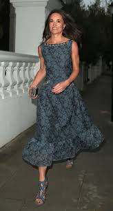 pippa middleton shows off toned arms in chic gown weeks before her