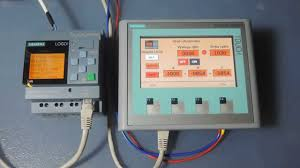 logo 0ba8 and siemens hmi panel ktp400 basic youtube