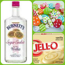 christmas sugar cookie pudding shots 1 small pkg vanilla instant