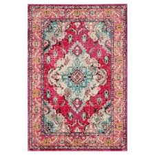 Pink And Black Rug Area Rugs Target