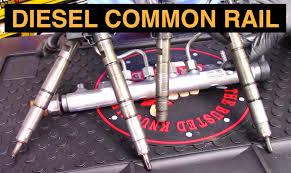 how diesel common rail fuel systems work youtube