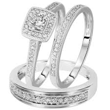 Trio Wedding Ring Sets by Download Wedding Rings Trio Sets For Cheap Wedding Corners